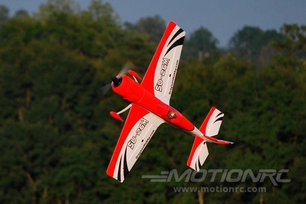 "Dynam Sukhoi SU-26M Red 1200mm (47"") Wingspan - RTF - SCRATCH AND DENT DY8948RTF-RED(SD)"
