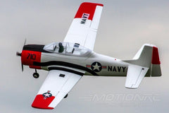 "Dynam T-28 Trojan Red V2 1270mm (50 "") Wingspan - PNP DY8940PNP-RED"