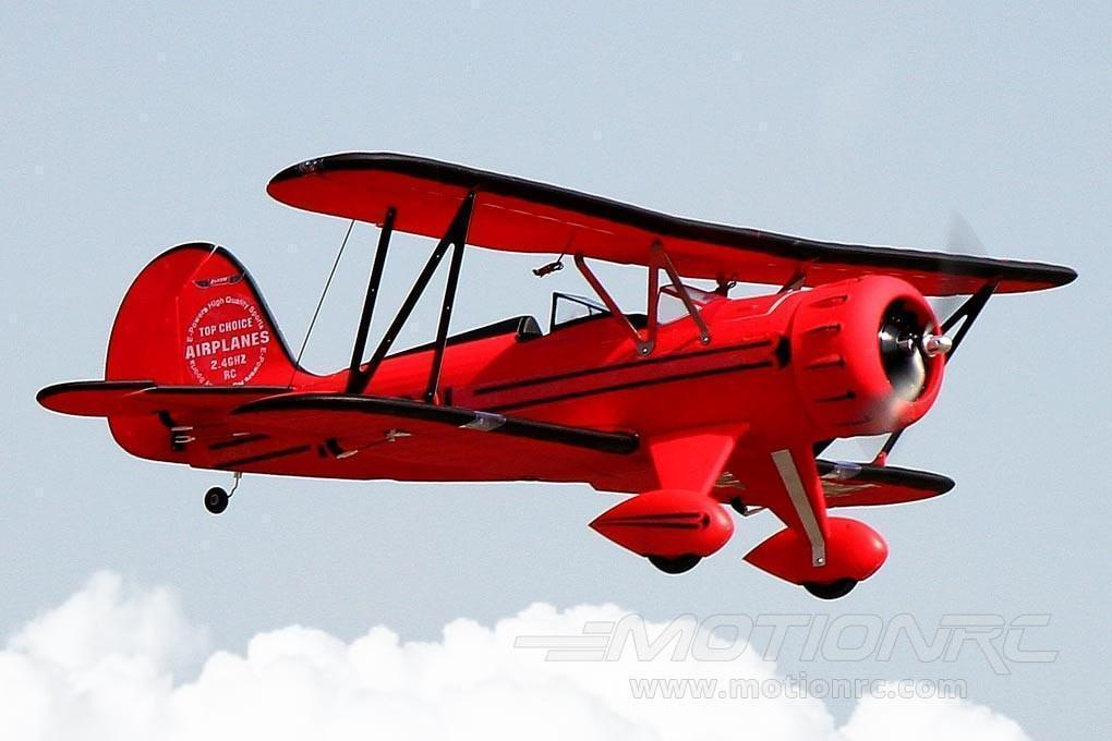 "Dynam Waco Red with Gyro 1270mm (50"") Wingspan - RTF DY8952SRTF-RED"