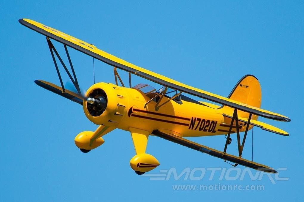 "Dynam Waco Yellow 1270mm (50"") Wingspan - PNP - SCRATCH AND DENT DY8952PNP(SD)"