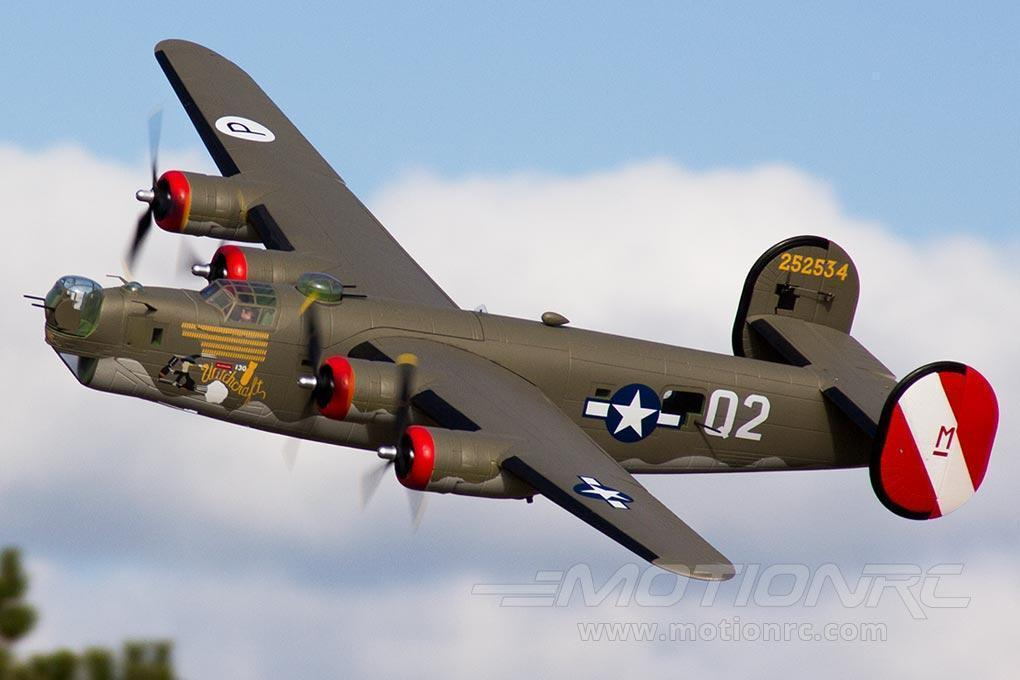 "FlightLine B-24 Liberator Olive Drab 2000mm (78"") Wingspan - PNP FLW401P"