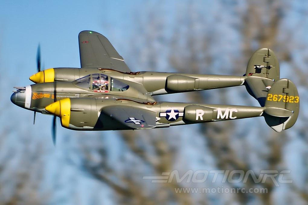 "FlightLine P-38L Lightning ""Allied Green"" 1600mm (63"") Wingspan - PNP FLW3012P"