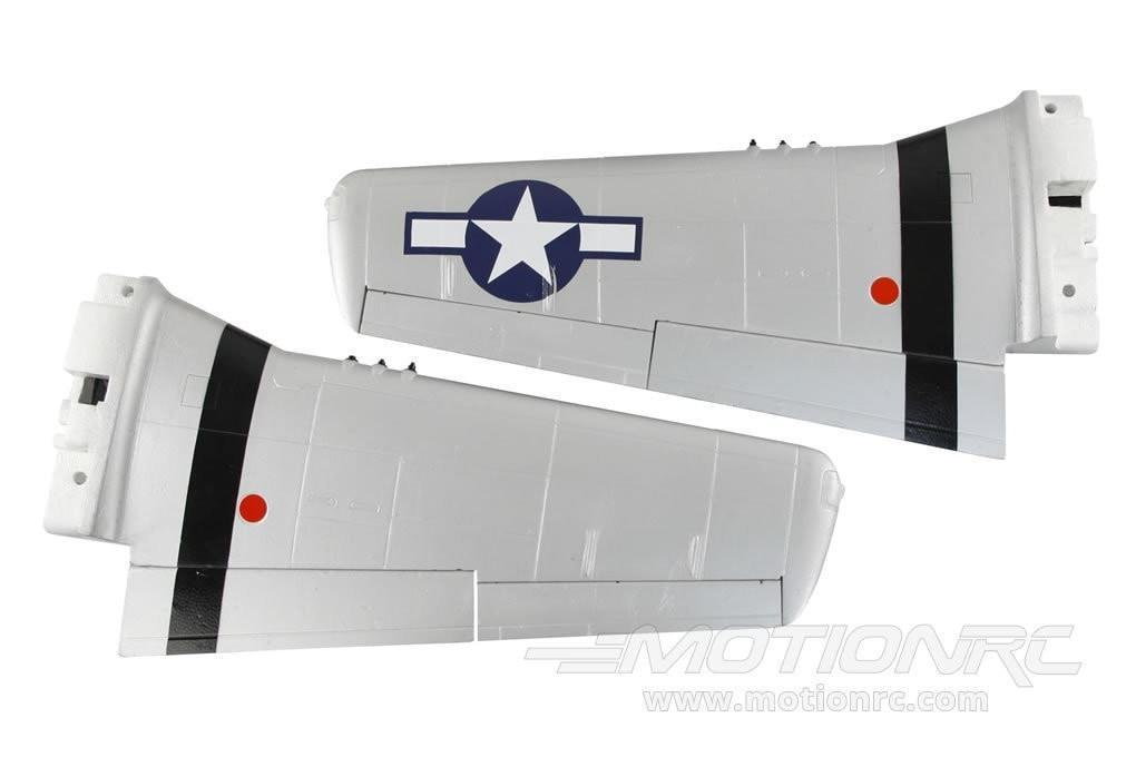Freewing 1410mm P-51D Main Wing Set - Old Crow - SCRATCH AND DENT FW3012102(SD)