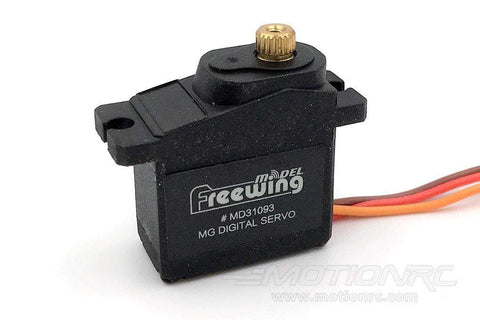 "Freewing 9g Digital Hybrid Metal Gear Servo med 500mm (19.6 "") Bly MD31093-500"