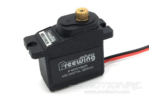 "Freewing 9g Digital Metal Gear Reverse Servo with 100mm (4"") Lead MD31092R-100"
