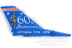 Freewing F-16C 90mm 60th Anniversary Vertical Stabilizer FJ3062193