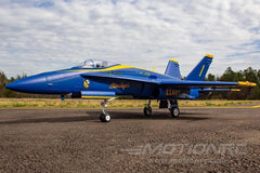 Freewing F / A-18C Hornet Blue Angels 90mm EDF Jet - PNP - SCRATCH UND DENT FJ31411P (SD)