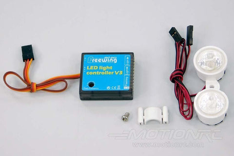 Freewing Stinger 90 Light Controller and LED Light Set E023