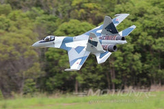 Freewing SU-35 Grå Camo Twin 70mm EDF Thrust Vectoring Jet - PNP FJ30311P
