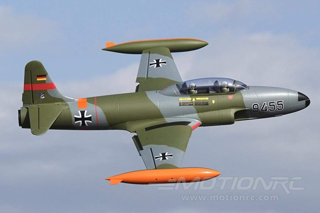 Freewing T-33 Shooting Star German 80mm EDF Jet - ARF PLUS FJ21721A+