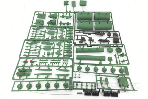 Heng Long 1/16 Scale China T-99A Plastic Parts Set HLG3899-100