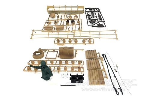 Heng Long 1/16 Scale USA M1A2 Abrams Plastic Parts Set HLG3918-100