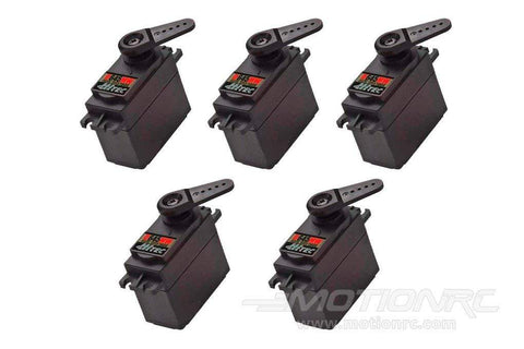 Hitec D-645MW High Voltage High Torque Digital Metal Gear Servo Airplane Multi-Pack (5 Servos) HRC6005-019