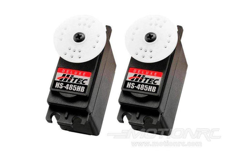Hitec HS-485HB Deluxe Ball Bearing Karbonite Gear Standard Servo Airplane Multi-Pack (2 Servos)