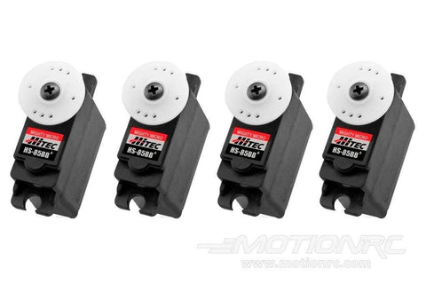 Hitec HS-85BB High Torque Micro Servo Airplane Multi-Pack (4 Servos) HRC6005-020