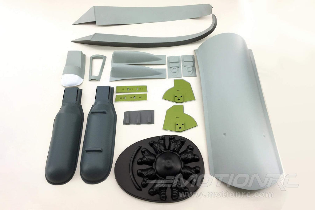 "Nexa 1500mm P-47B Thunderbolt ""Touch of Texas"" Plastic Parts Set NXA1001-106"