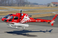 Roban AS350 Air Zermatt 700 Size Scale Helicopter - ARF RBN-AS350-7S