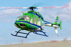 Roban B407 Air Life 700 Size Scale Helicopter - ARF RBN-407G-7S