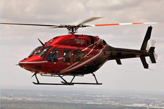 Roban B429 Red/Black 700 Size Scale Helicopter - ARF RBN-429RB