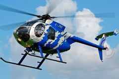 Roban MD-500E G-Jive Blue 500 Size Helicopter Scale Conversion - KIT RBN-KFMD500GJB5