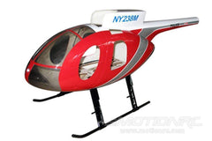 Roban MD-500E Police Version Red 500 Size Helicopter Scale Conversion - KIT RBN-KF-H500EPR5