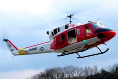 Roban UH-1N Rescue 600 Size Helicopter Scale Conversion - KIT RBN-KFUH1NRES6