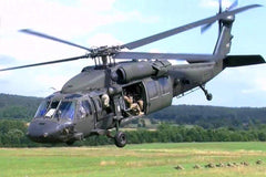 Roban UH-60 Black Hawk V3 600 Size Helicopter Scale Conversion - KIT RBN-KFUH60BH6