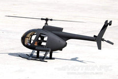 RotorScale AH-6 Attack Tactical Black 450 Size Helicopter - PNP RSH0002P