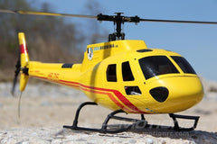 RotorScale AS350 Alpine Yellow 450 Size Helicopter - PNP RSH0004P