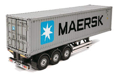 Tamiya Maersk Container Trailer 1/14 Scale Plastic Model - KIT TAM56326