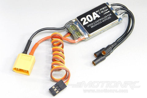 TechOne 20A ESC with XT60 Connector TEC1002004