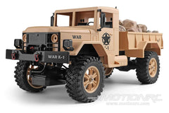 WLToys Military Truck Tan 1/12 Scale 4WD Truck - RTR WLT-124302-100