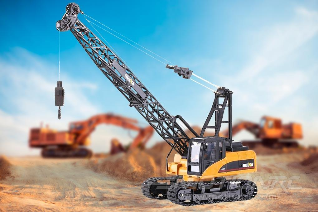 XK Innovations HuiNa SAN50T Die-Cast 1/14 Scale Mobile Crane - RTR HUA1572-001