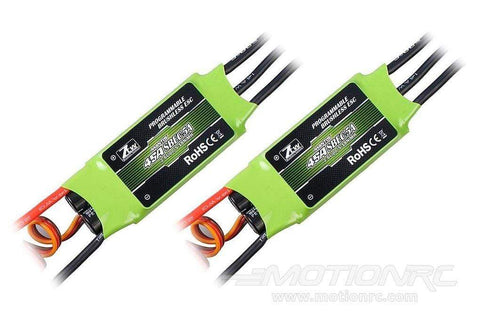 ZTW Mantis 45A ESC with 5A SBEC Multi-Pack (2 ESCs)