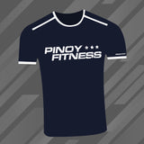 Pinoy Fitness Basics - Dark Blue