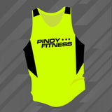 Pinoy Fitness Basics - Neon Yellow Singlet