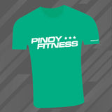 Pinoy Fitness Green Training Tee
