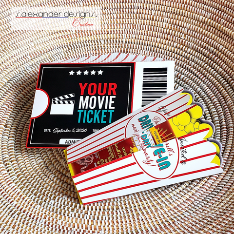 INVITE-U: Drive-In Movie Invitations (in sets of 25)