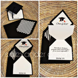 INVITE-U: Graduation Cap Thank Yous (Sets of 25)