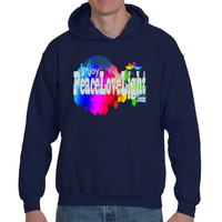 EnjoyPeaceLoveLight Hoodie Gray