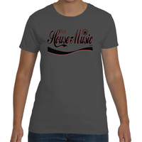 EnjoyHouseMusic Grey Women's Short Sleeve T-Shirt
