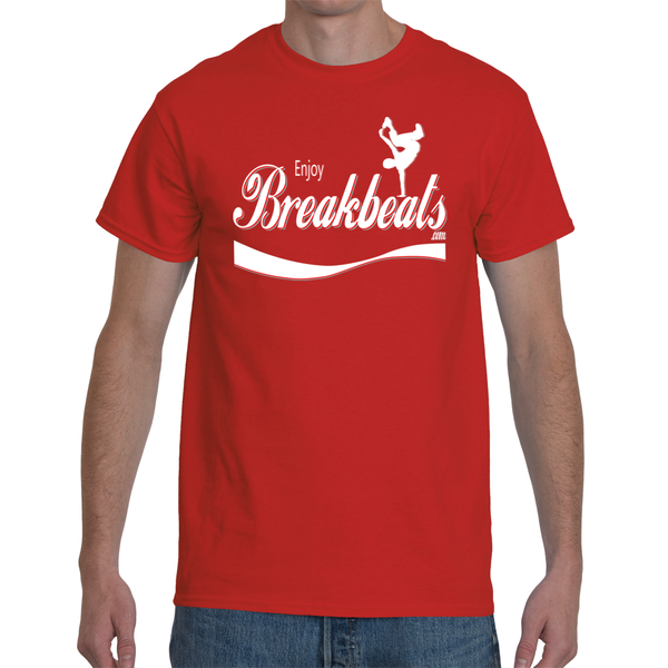 EnjoyBreakBeats Multicolor Men's Short Sleeve T-Shirt