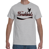 EnjoyBreakBeats Grey Men's Short Sleeve T-shirt
