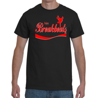 EnjoyBreakBeats Red Logo Men's Short Sleeve T-Shirt