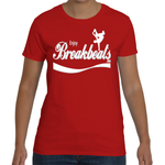 EnjoyBreakBeats White w/ Gray Women's Short Sleeve T-Shirt