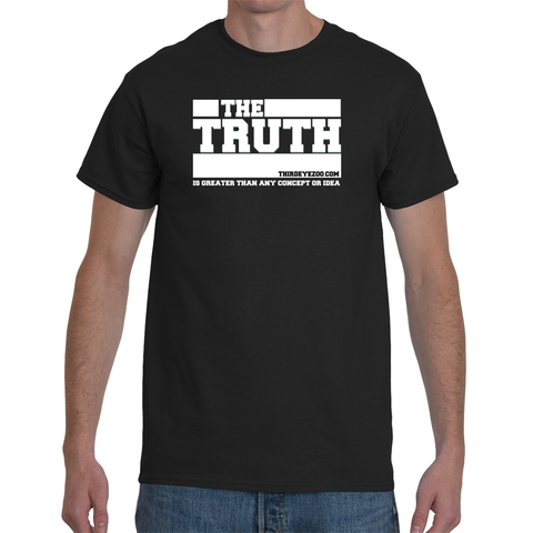 ThirdEyeZoo Truth Men's Short Sleeve T-Shirt