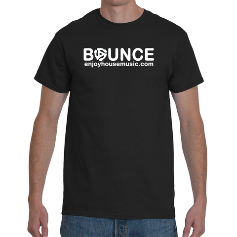 Enjoy House Music Bounce To Da Beat Men's Short Sleeve T-Shirt