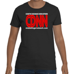 MiddleFingerNetwork.com Cognitive Dissonance News Network Women's Short Sleeve T-Shirt