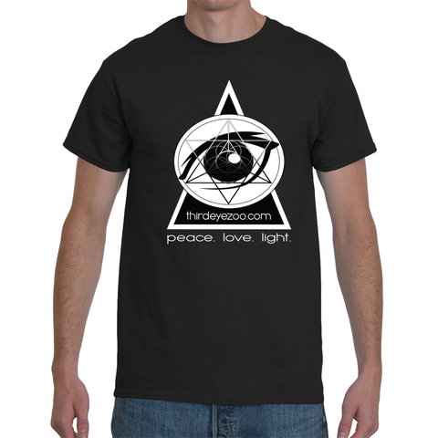 3EZ GMT (ThirdEyeZoo GeoMeTricks) Men's Short Sleeve T-Shirt