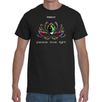 Lotus Flower Power GeoMeTricks Men's Short Sleeve T-Shirt